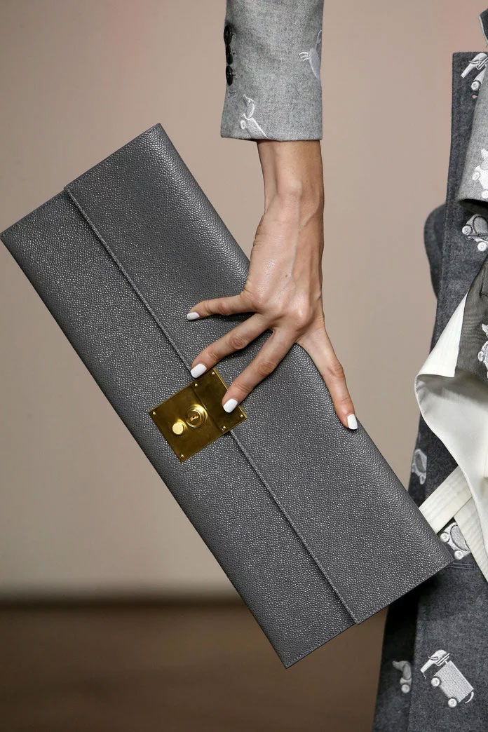 Long clutch at Thom Browne