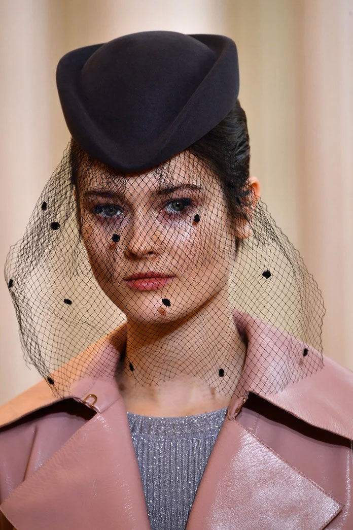 Hat with Veil at Nina Ricci