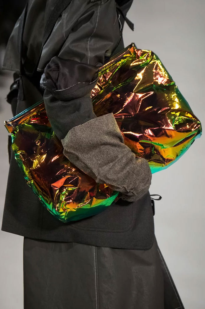 Holograph Clutch at Maison Margiela