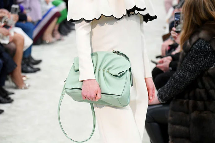 Pastel bag at Valentino