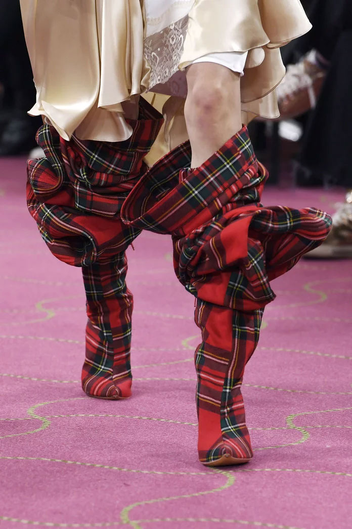 Tartan Boots at Y/Project