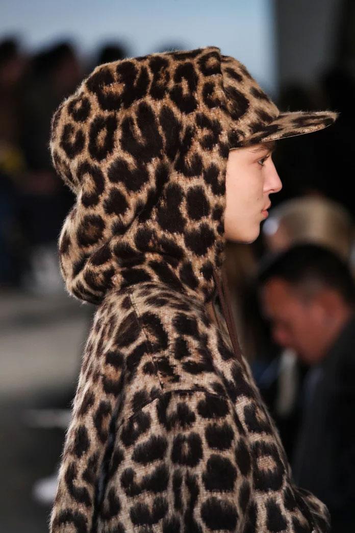 Leopard Print Baseball Cap
