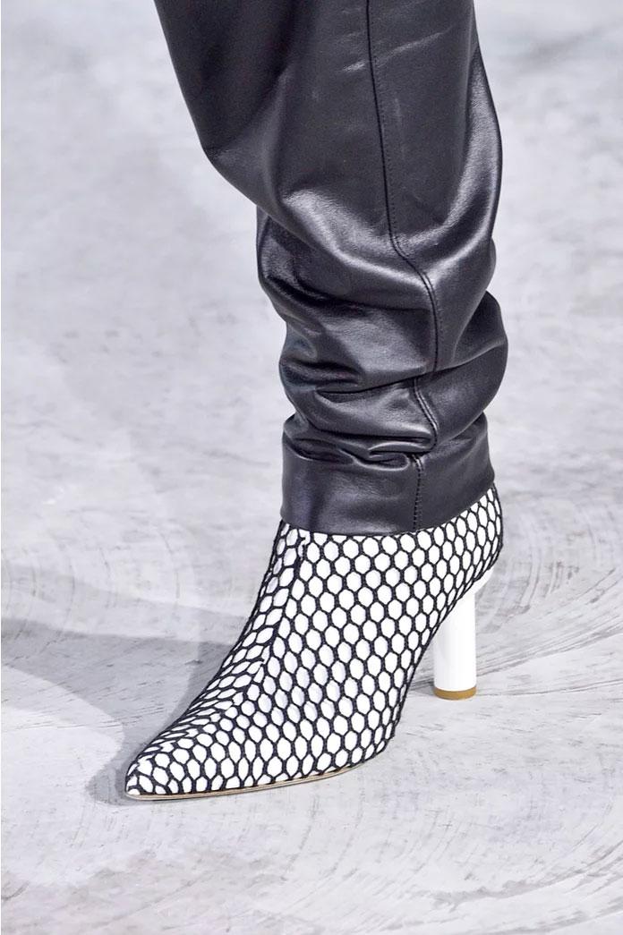 Fishnet Boots