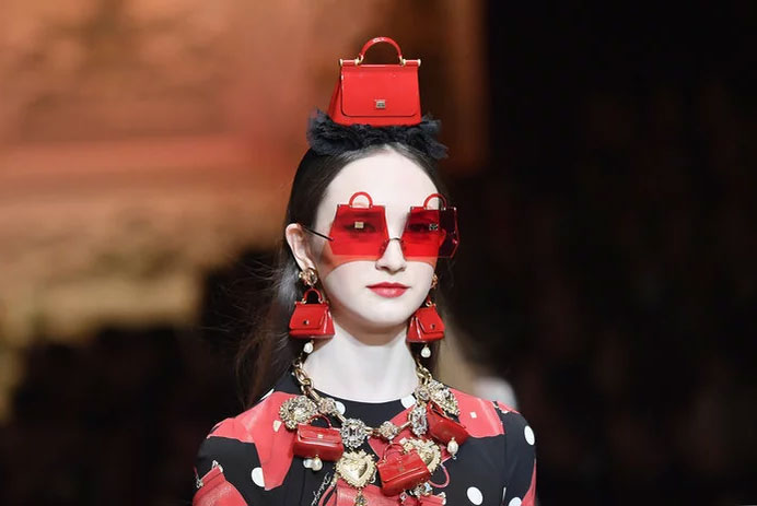 Hat Headband at Dolce & Gabbana