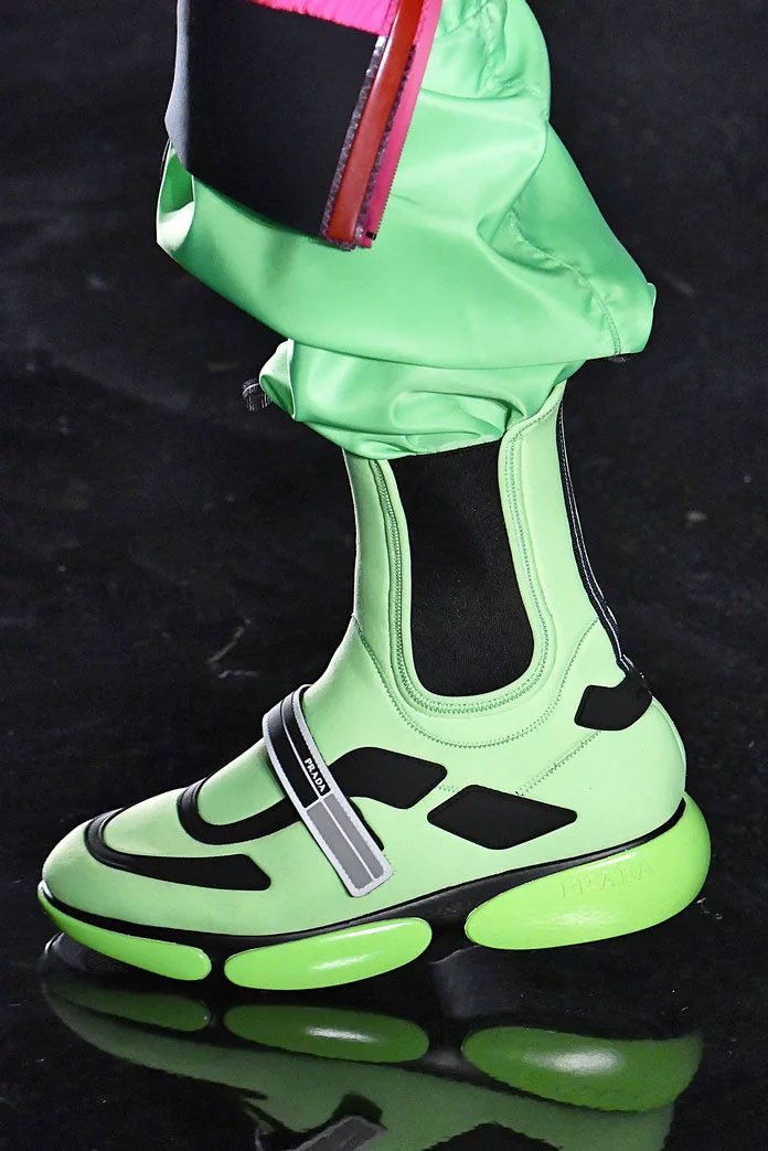 The Neon Sneaker at Prada