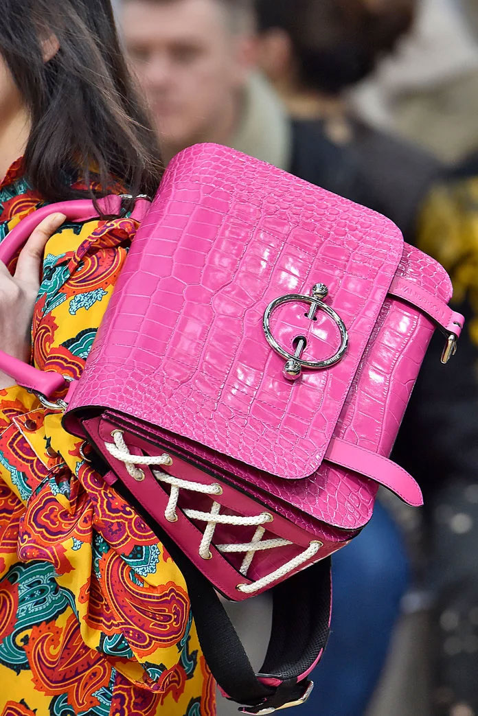 Pierced Pink Bag