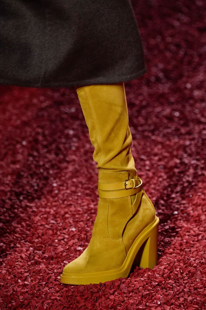Suede Boot at Hermes