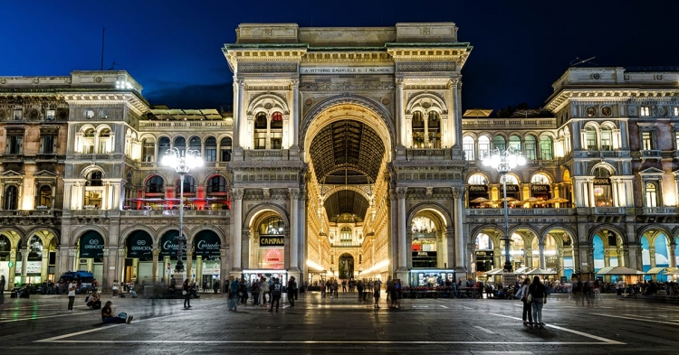 Milan Italy Galleria